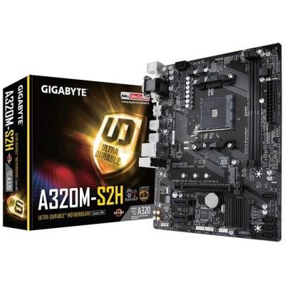 GIGABYTE A320M-S2H DDR4 HDMI DVI VGA USB3.1 AM4